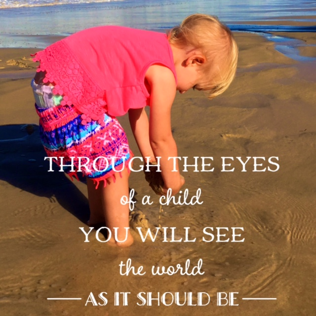 through the eyes of a child - teaching children manners